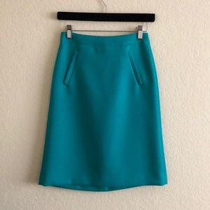 J. Crew Sterling skirt in double-serge wool